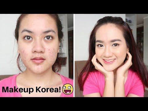 MAKEUP KOREA DI KULIT JERAWAT + BEKAS JERAWAT by Alifah Ratu Saelynda