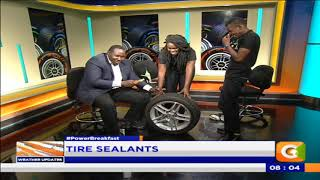 Power Breakfast:  Tire Sealants #PowerBreakfast
