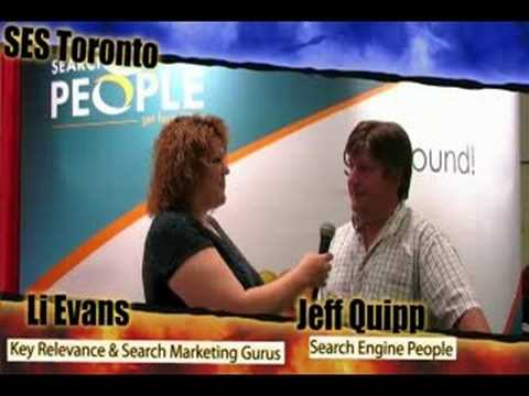 Jeff Quipp of Search Engine People - SES Toronto Video