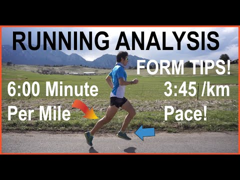 RUNNING FORM TECHNIQUE AT 6-MIN MILE (3:45/KM) PACE: ANALYSIS AND TIPS FOR SPEED AND EFFICIENCY