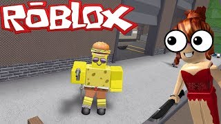 SPONGEBOB IS THE SHERIFF OF MURDER! | ROBLOX Mistery Murder 2