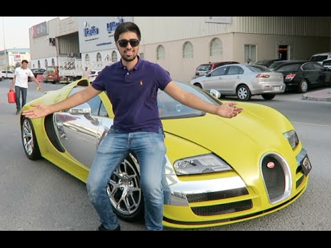 Driving a Bugatti for a Day !!!