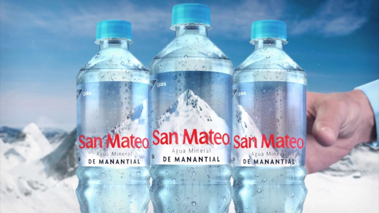 San Mateo, auténtica agua de manantial - YouTube