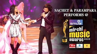 Sachet and Parampara perform the Kabir Singh mash-up I Smule Mirchi Music Awards 2020 I Unseen Clip