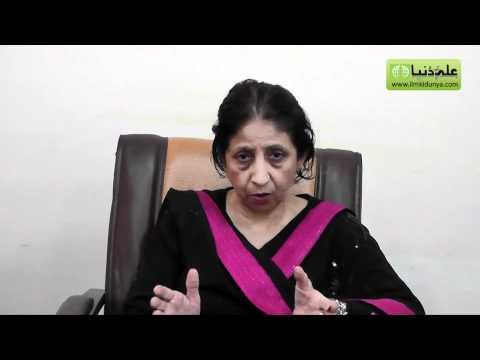 Interview Chairperson Department of Gender Studies Punjab University