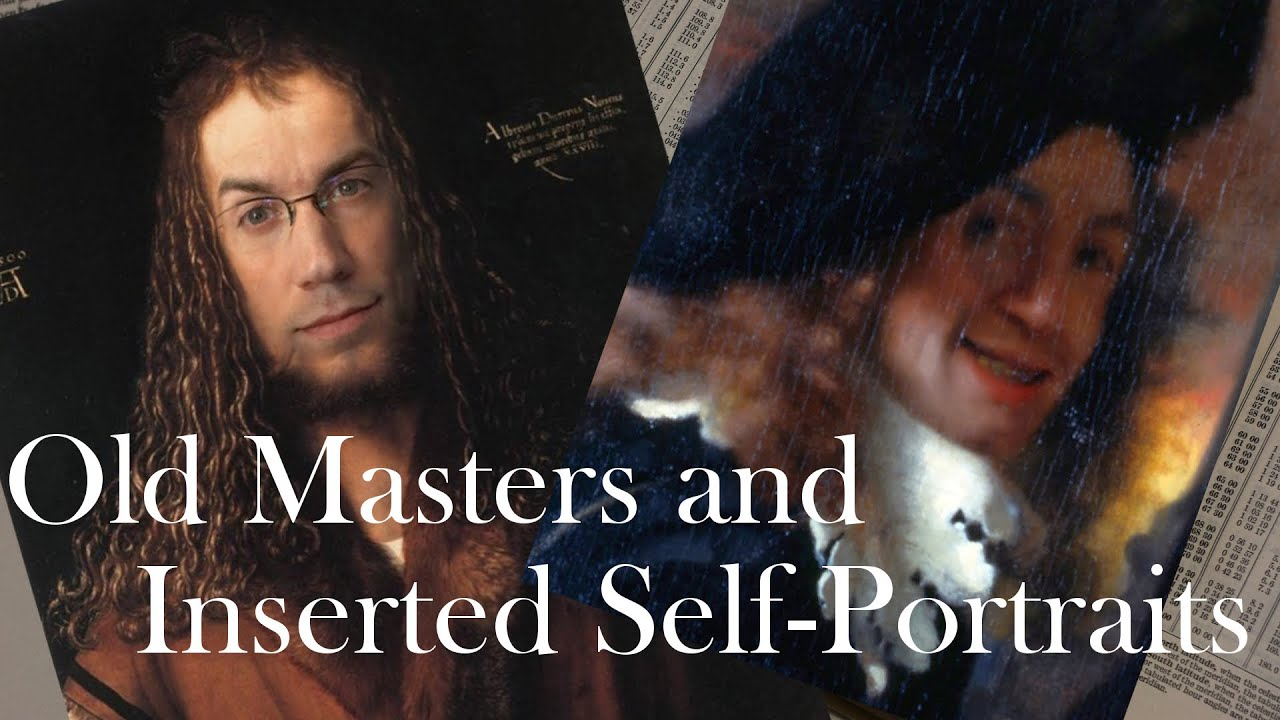 vermeer d252rer and inserted selfportraits bookworm