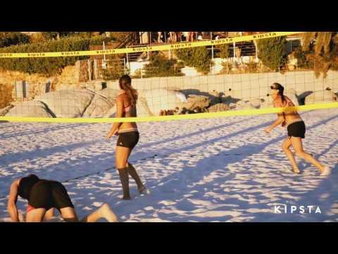 8ff70f292 Rede de vôlei de praia BV 700 Kipsta - Exclusividade Decathlon - YouTube