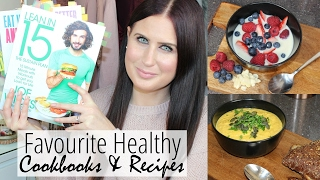 My top 4 healthy cookbooks & favourite recipes that changed life