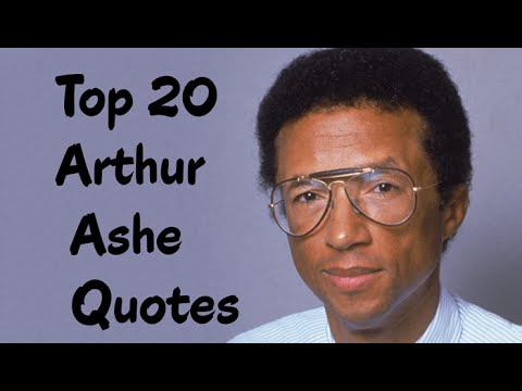 arthur ashe a tennis player Arthur ashe explains how this iconic african american tennis player overcame racial and class barriers to reach the top of the tennis world in the 1960s and 1970s but more important.