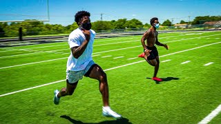I RACED MARQUISE GOODWIN! (IS HE FASTER THAN TYREEK HILL?) FT. DEZ BRYANT