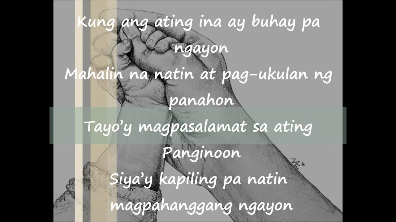 Tula Para sa mga Nanay (Mother's Day Tribute)