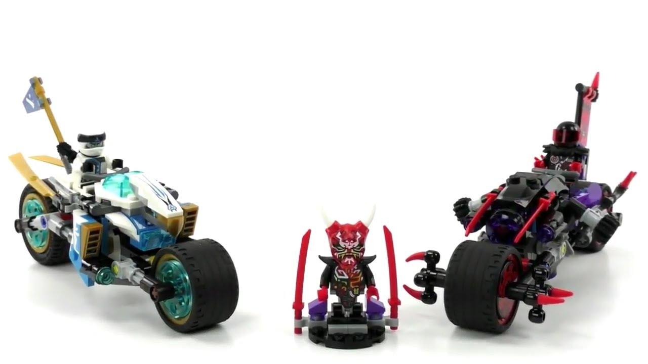 Lego Ninjago Set 70639 Straßenrennen Des Schlangenjaguars Review