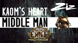 Path of Exile - Legacy Kaom's Heart HUGE trade | Middle manning