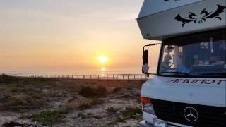 Die Estrada Atlantica - mit dem Wohnmobil in Portugal