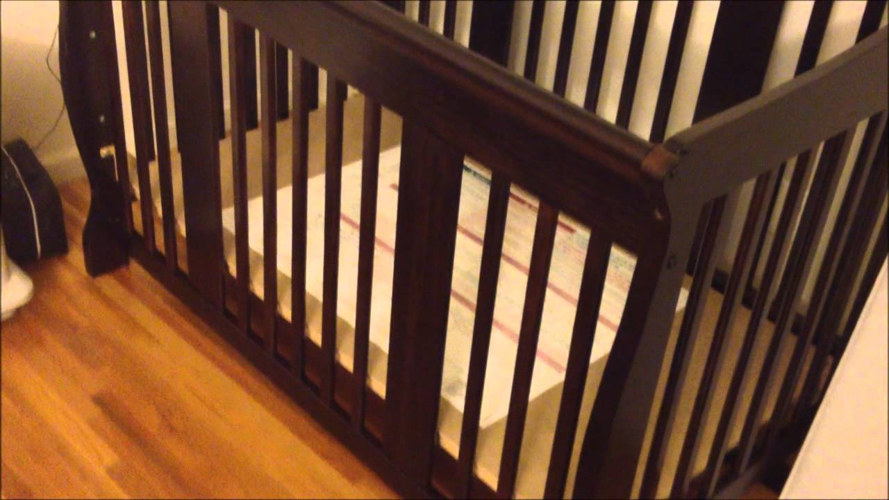 Stork Craft Tuscany 4in1 Stages Crib Review  YouTube