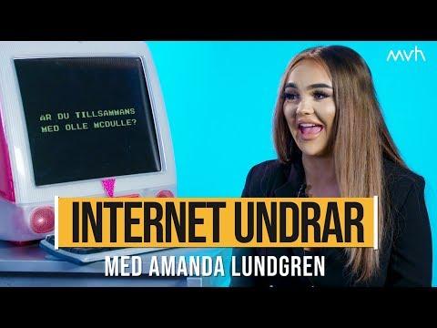 Har Amanda Lundgren använt botox? | INTERNET UNDRAR