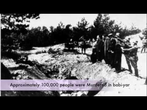 A literary analysis of babi yar