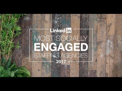 Meet the Most Socially Engaged Staffing Agencies of 2017 [webcast]