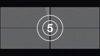 Футаж Отсчёт времени 1. Обратный отсчет. Таймер. 2017