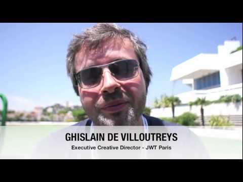 Interview de Ghislain de Villoutreys - Executive Creative Director @ JWT Paris
