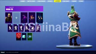 New Guan Yu Skin (Fortnite)