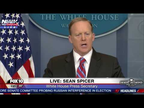 WATCH: Sean Spicer RIPS Reporter Over Classified Info Reporting Leaks