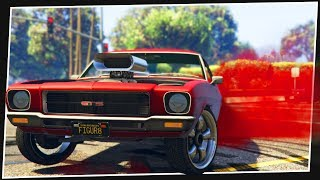 AUSSIE BURNOUT HOLDEN HQ IN GTA 5