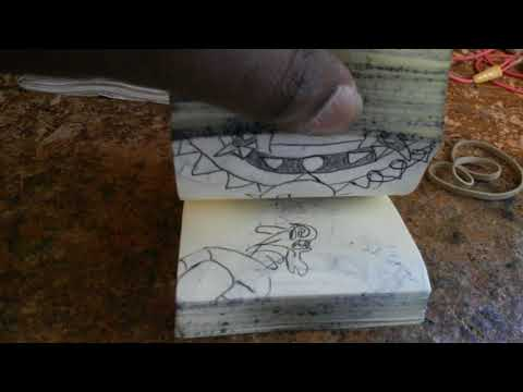 Luigi's mansion flipbook animation
