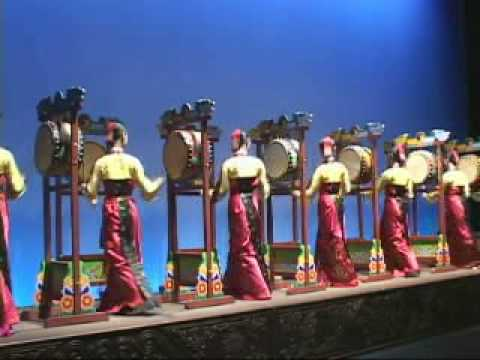 Samgo-Mu (Korean Drum Dance)