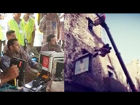 LEAKED - Salman Khan Tiger Zinda Hai On LOCATION Video