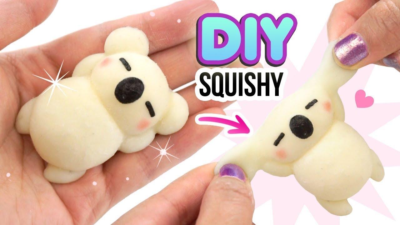 7692bce4daad DIY SQUISHY KOALA!! Make VIRAL Silicone Squishies from Scratch! Hitohada  Gel Tutorial