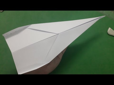 How to make a paper plane that flies 1000 feet easy