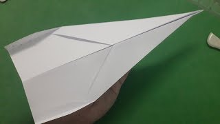How to make a paper airplane that flies 1000 feet easy | #4