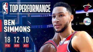 Ben Simmons Leads the 76ers