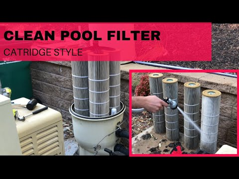 HOW TO: Clean Your Pool Filter
