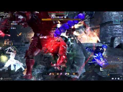 Red Death Knight Gameplay || Zecallion x2 [Vindictus]