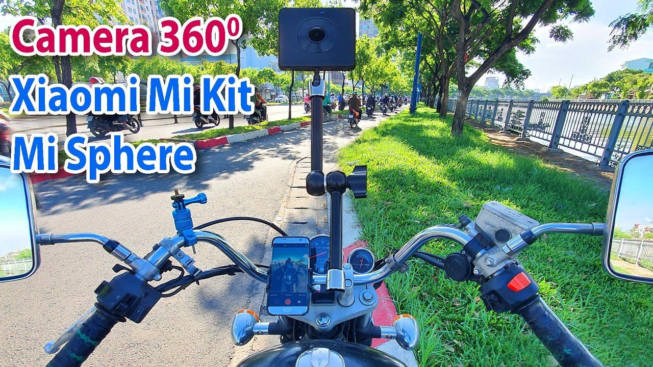 Hướng dẫn Chụp / Quay phim và cách biên tập Video 360 độ của Camera Xiaomi Mi Kit / Mi Sphere
