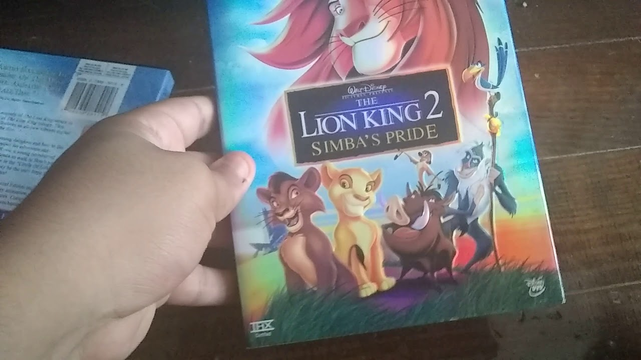 The Lion King 2 Simba S Pride 2004 Dvd Review Re Uploaded Youtube