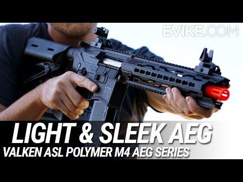 The Light and Sleek AEG - Valken ASL Polymer AEG Series