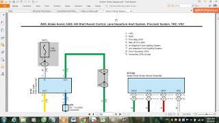 Toyota Auris Hybrid Vehicle EM3045E – System Wiring Diagram
