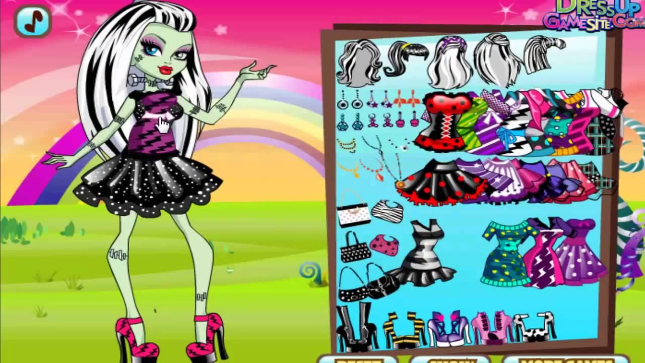 Juegos De Vestir A Frankie Stein Monster High
