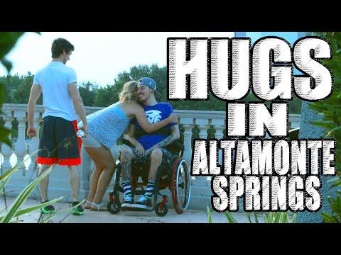 Asking for Hugs in Altamonte Springs