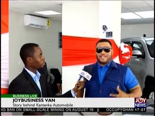 Business Live on JoyNews (15-8-18)