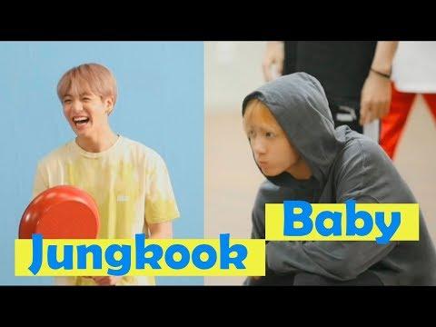 BTS Jungkook is still a baby #GoldenMaknae
