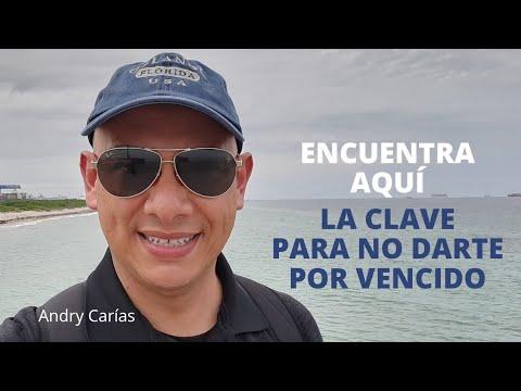 Encuentra aquí la clave para no darte por vencido - Andry Carías