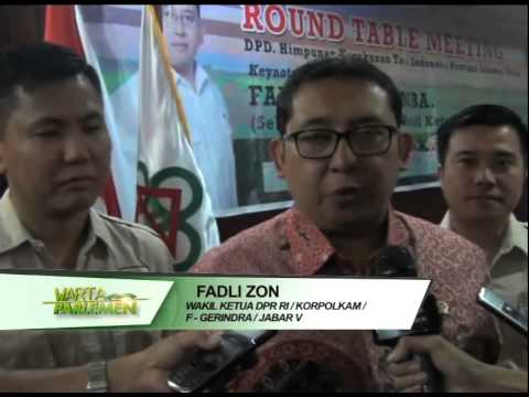 DPR RI - FADLI ZON KUNJUNGI UNIV. SAM RATULANGI MANADO