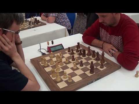 GM David Navara - GM Nestorovic Nikola, Nimzo-Indian defense, Blitz chess