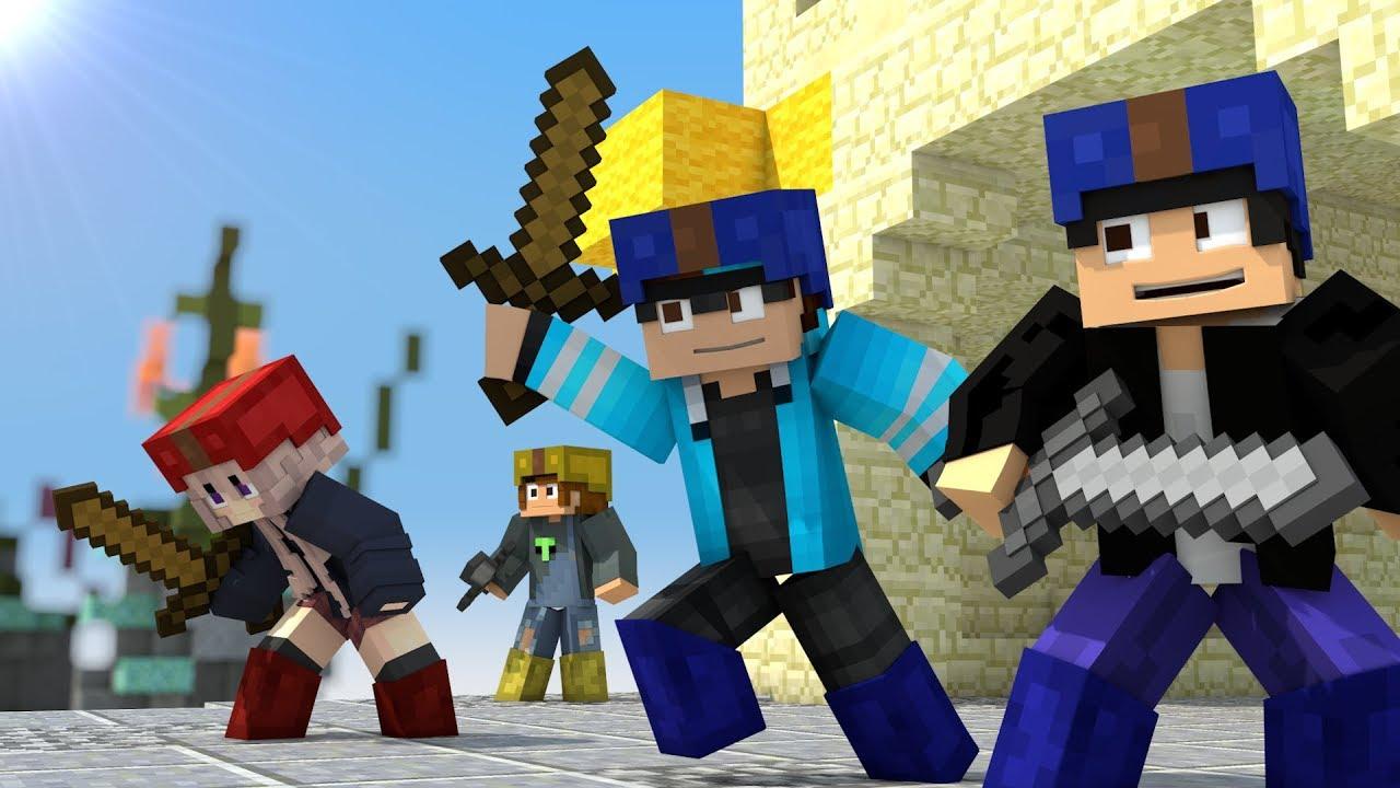 Bedwars Part 1 - Minecraft Animation (Hypixel)