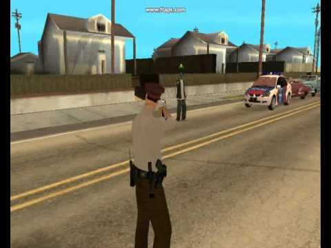 Gta San Andreas Beratnya Tugas Polisi