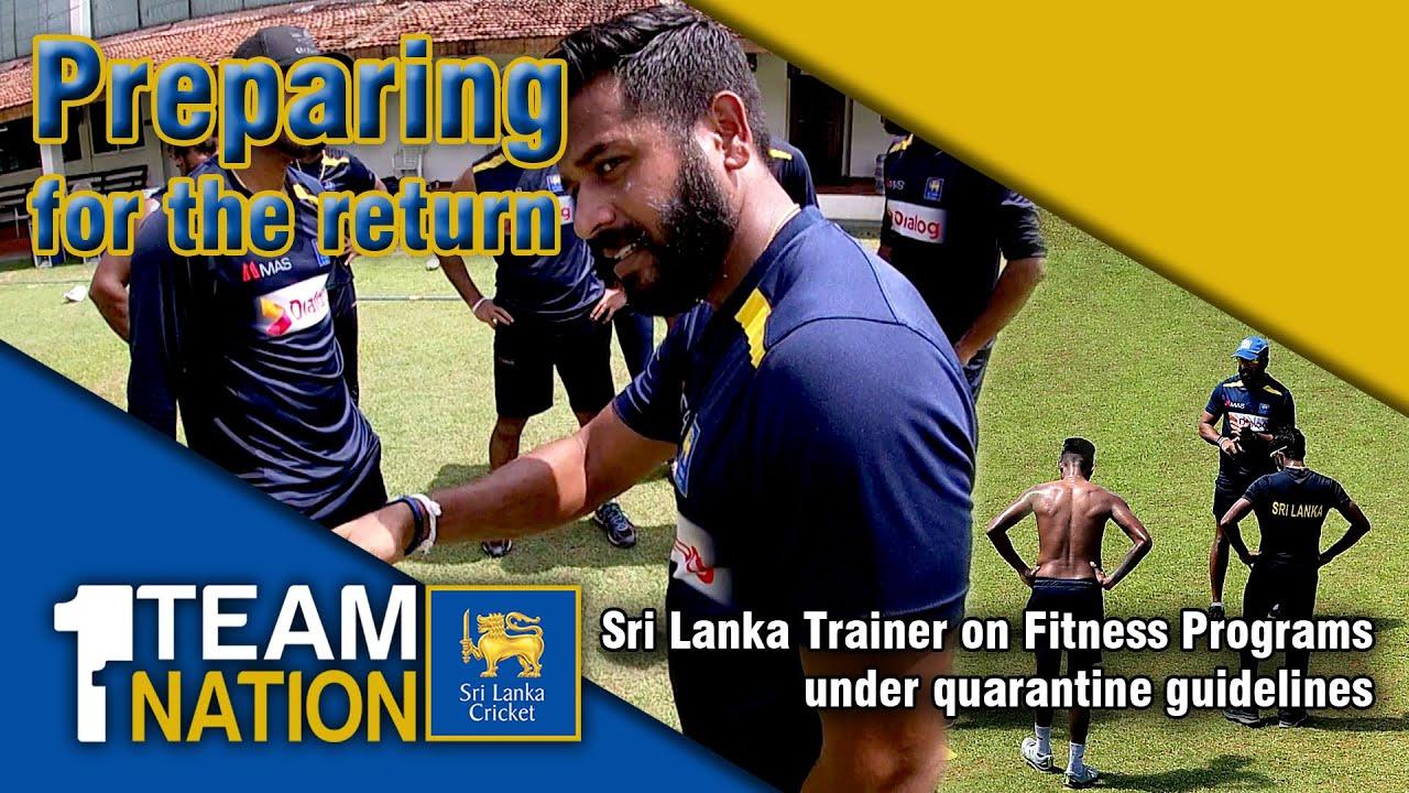 Sri Lanka Trainer on Fitness Programs under quarantine guidelines | Preparing for the return